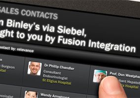 Fusion Integration website